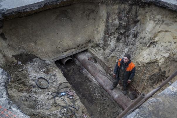 В Волгограде гидроудар разорвал магистральный водовод «Концессий водоснабжения»