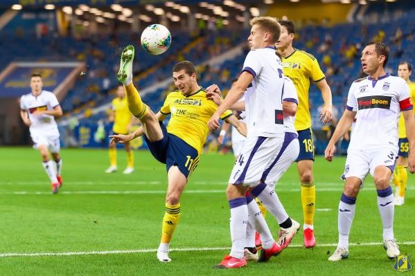 В прошлом сезоне «Ростов» дважды уступил «Уфе»