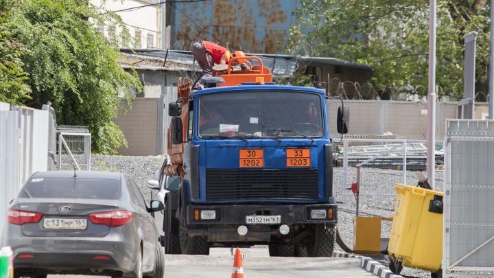 В Ростове на некоторых улицах запретят проезд грузовиков