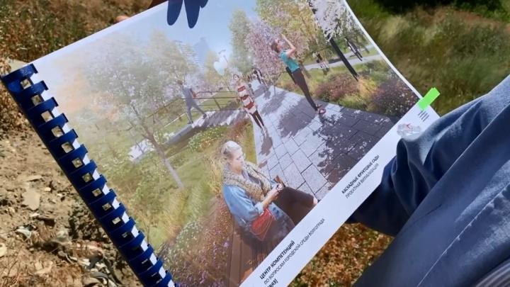 В Волгограде в пойме реки Царицы планируют сделать каскадные фруктовые сады