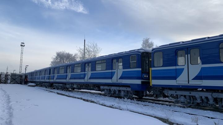 В Самару вернули 6 отремонтированных вагонов метро
