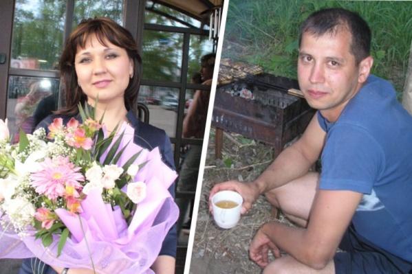 Луиза Хайруллина со своим супругом Маратом