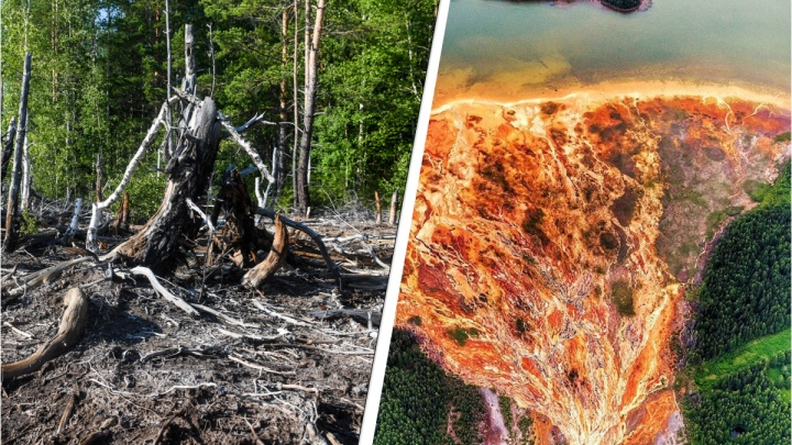 Откуда взялась «мертвая река» и как ее оживить: 9 фактов о руднике с кислотной водой на Урале
