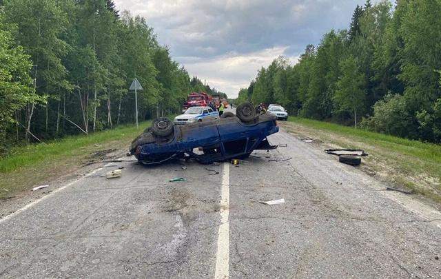 Авария в Вагайском районе унесла жизнь одной из пассажирок отечественной легковушки