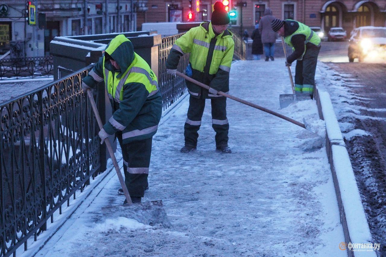 В начале февраля целых полдня казалось, что вот она — зима! Санкт-Петербург, 5 февраля 2020 года