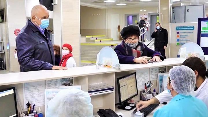 «Отчеты оказались далеки от реальности»: Цивилев попытался оправдаться за огромные очереди в больницах