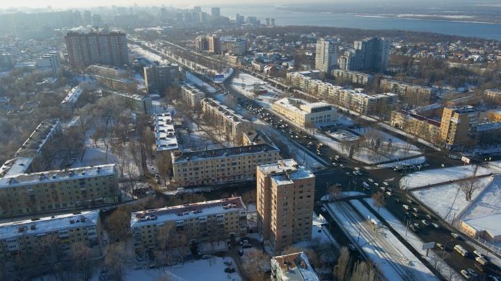 Строительство двухуровневой развязки на Ново-Садовой растянется на 2 года