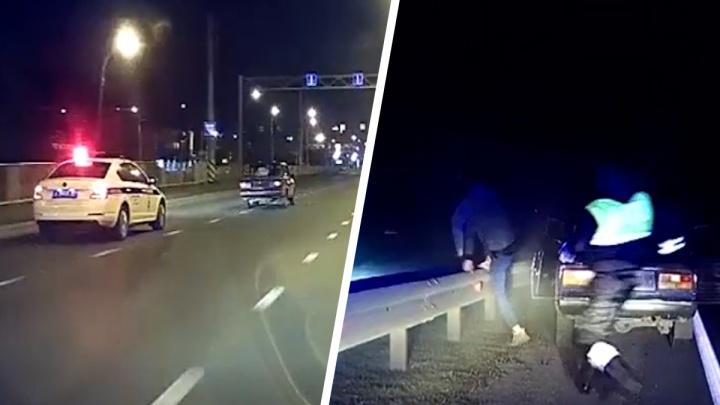 В Тольятти инспекторы ГИБДД гонялись за 16-летним автохулиганом