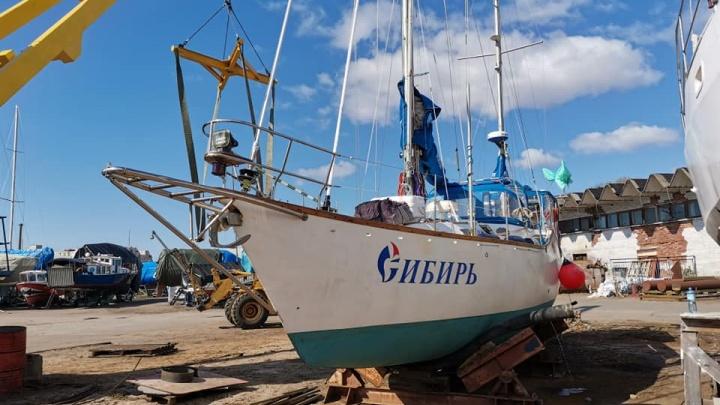 Экипаж яхты «Сибирь» досрочно вернулся в Омск из кругосветки