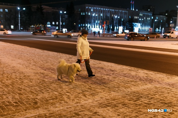 """В Кемерово не ожидается осадков, а температура воздуха будет <nobr class=""""_"""">от -4 до -11</nobr>"""
