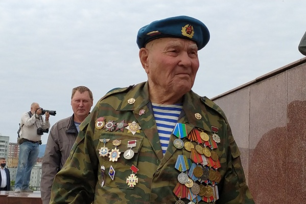 Георгий Терентьевич Ивкин — самый опытный десантник России. Ему 95 лет