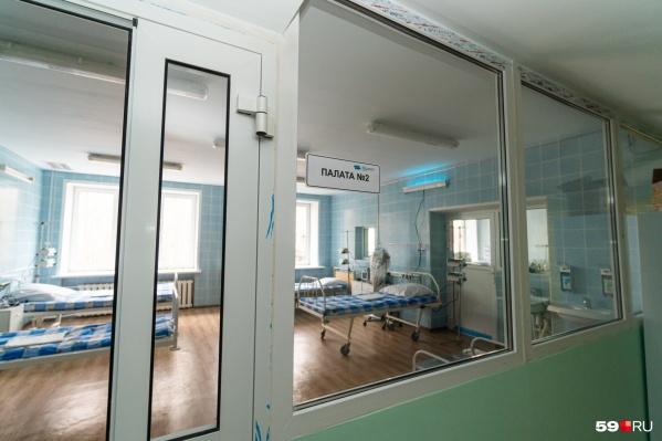 82 пациента лечатся в больницах