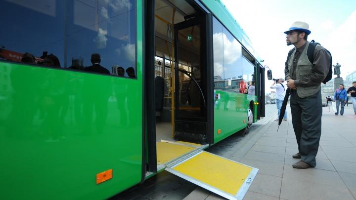 Будем ездить с комфортом: в Екатеринбург привезли первые автобусы с кондиционером