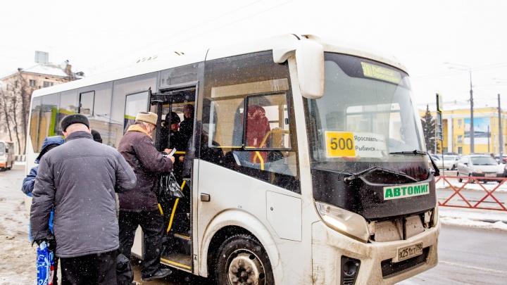 Автобусы в ассортименте: пассажиры маршрута Ярославль — Рыбинск смогут выбирать класс перевозки