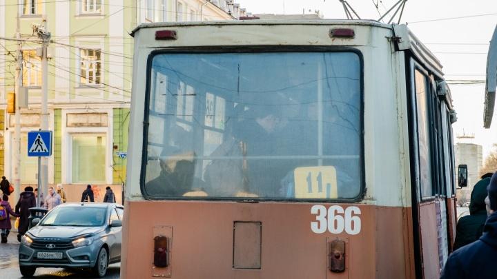 В Перми с сентября закроют движение трамваев по Уральской