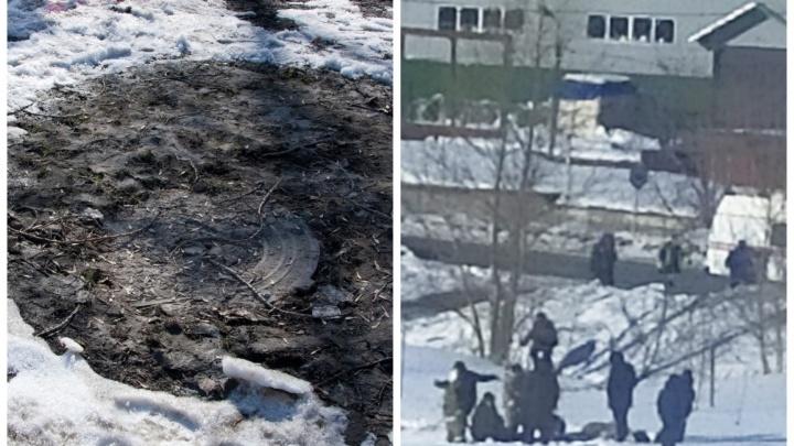 «Дети были мокрые, кричали»: два маленьких мальчика провалились в открытый люк с ледяной водой