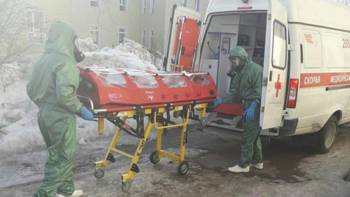 В Башкирии 34 человека госпитализированы с подозрением на коронавирус, еще 311 — под наблюдением