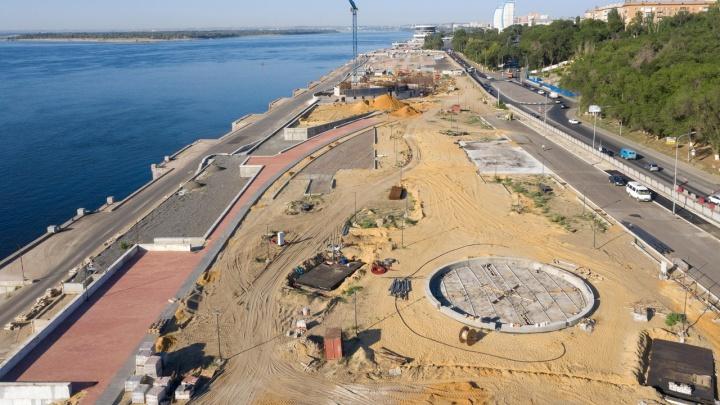 На Центральной набережной Волгограда проложат 20 километров водовода