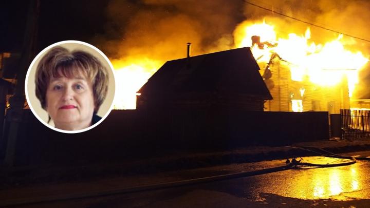 «Останется в наших сердцах». Руководитель педиатрии Добрянской ЦРБ умерла от полученных на пожаре ожогов
