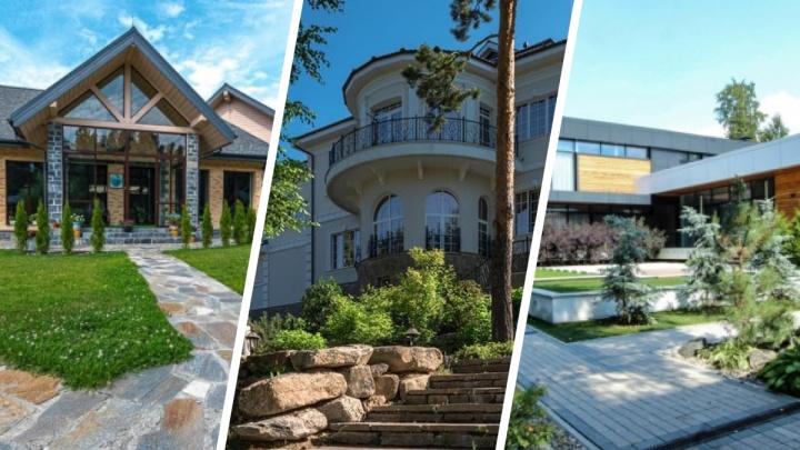 250 миллионов за дом с бассейном: где в окрестностях Екатеринбурга продаются самые дорогие коттеджи