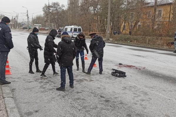 ЧП произошло около 15:00 на улице Голубинской