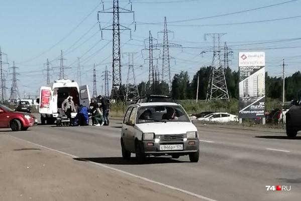 32-летнего Илью Онянова сбили на пешеходном переходе недалеко от остановки «47-й микрорайон»