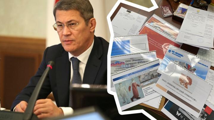 «Если кому-то интересно»: Хабиров показал, как выглядит его рабочий стол