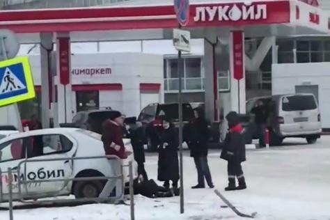 ДТП произошло в районе заправки напротив ТК «Радуга»
