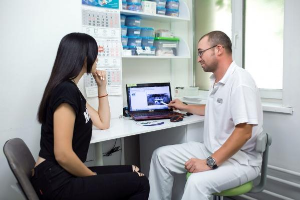 После диагностики пациент имеет четкое представление о своем стоматологическом здоровье