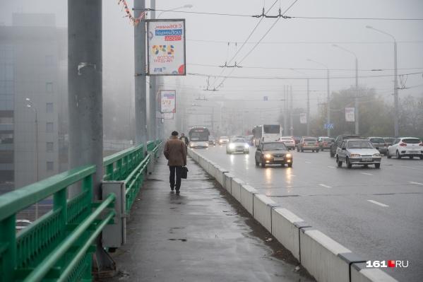 Зимой температура в Ростове будет не ниже -4 градусов