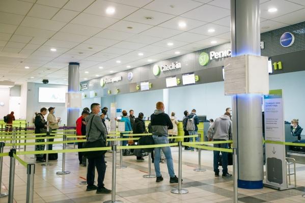 Впервые такие тестирования были сделаны в новосибирском аэропорту вчера вечером