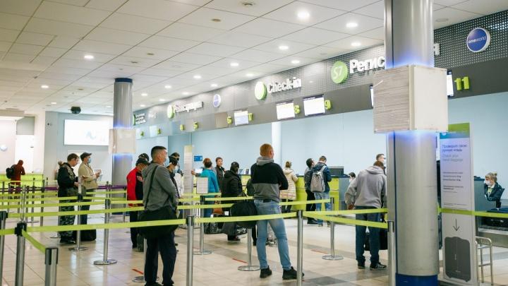 Пассажиров некоторых рейсов из Новосибирска начали бесплатно тестировать на COVID-19
