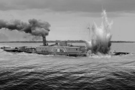 Судно затонуло в мае 1943 года