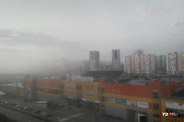 Особенно плотным был туман перед восходом солнца