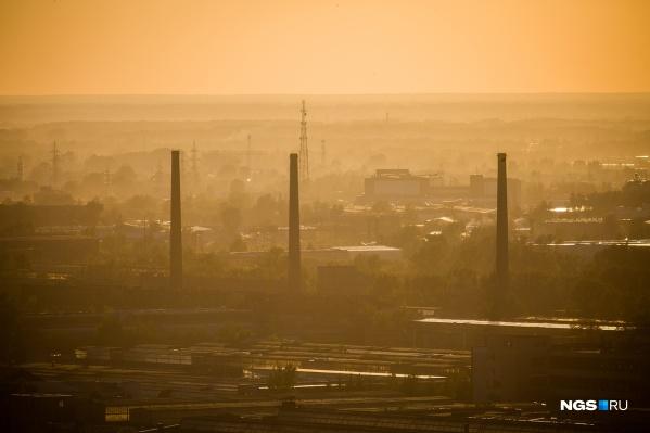 В основном сообщения о неприятном запахе сегодня поступали из Ленинского района