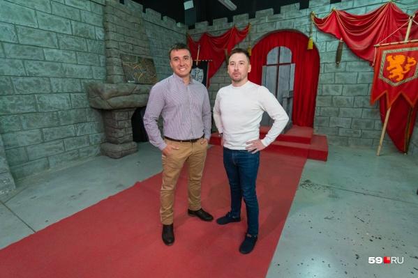 Александр Михалев (слева) и Григорий Габов — два друга и бизнес-партнера