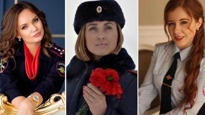 «Леди омская полиция»: финальное голосование за красоток в погонах