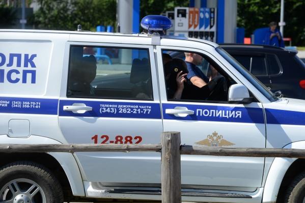Мужчину с ножом ищет полиция
