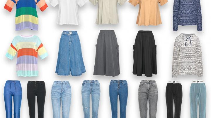 Легкие сланцы, шорты с принтом и мужские футболки: в магазин в центре города завезли одежду для пляжного отдыха