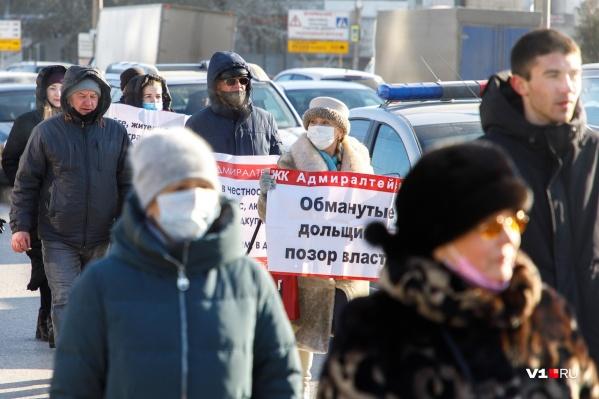 Волгоградцы вышли на дороги Красноармейского района