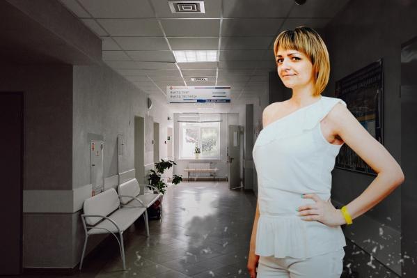 Екатерина Лудина из-за раковой опухоли страдает от очень сильных болей