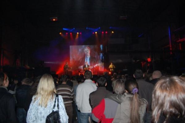 Фото с концерта Brazzaville в «Теле-Клубе» в 2008 году