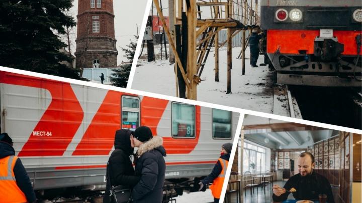 Как в Тюмени танки сносили старый вокзал: гуляем по железнодорожному району
