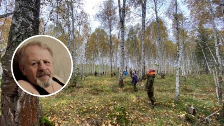 В лесу под Тюменью найден потерявшийся грибник (он прошел за четыре дня почти 60 километров)