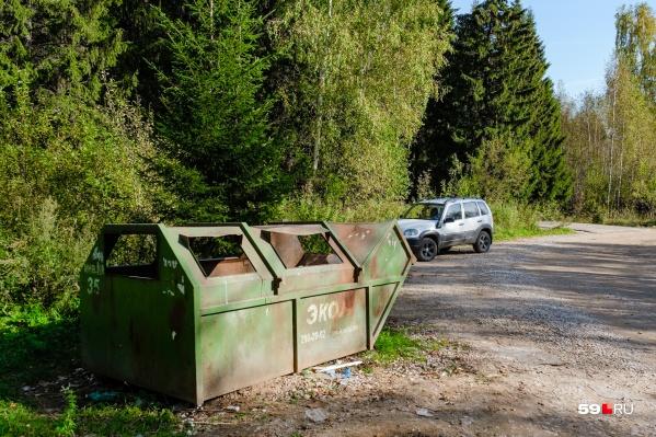 Часть платы за мусор должна идти на обновление контейнеров