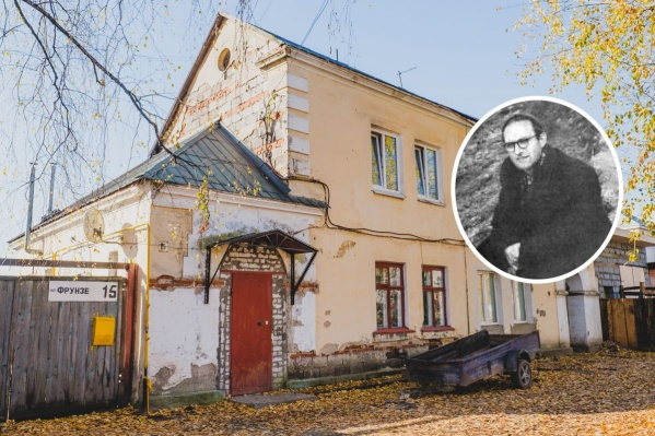 Один из домов в Боровске, спроектированный архитектором, и сам Филипп Тольцинер