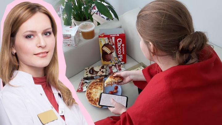 Полезные перекусы и вред «нулевой» кока-колы: как не растолстеть на самоизоляции. Видео
