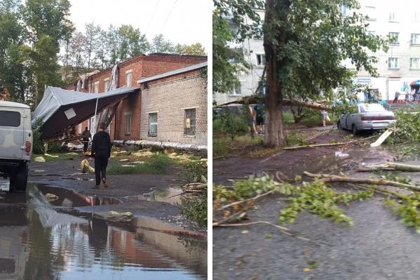 В соседнем городе Куйбышеве не было даже дождя