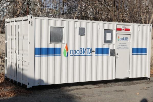 Кислородная станция может снабжать кислородом даже стационарный объект