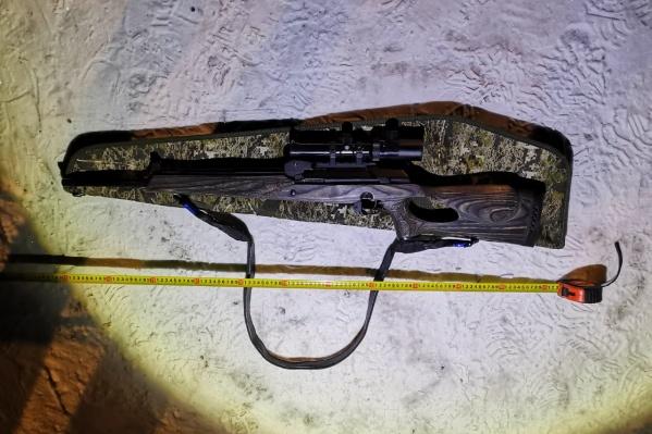 Это карабин, из которого был застрелен Михаил Черницкий